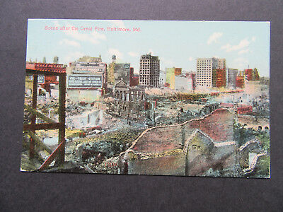 United Electric Power Co, After Great Fire, 1904, Baltimore, Maryland, MD, A8134