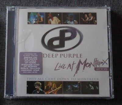 Deep Purple, live at Montreux 2006, CD neuf