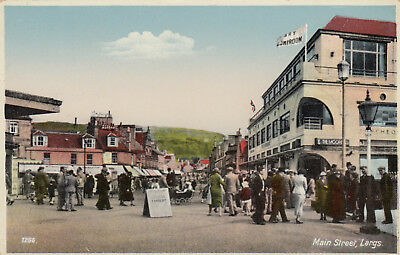 Postcard  Main Street  Largs