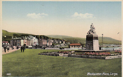 Postcard    Largs  Mackerston Place