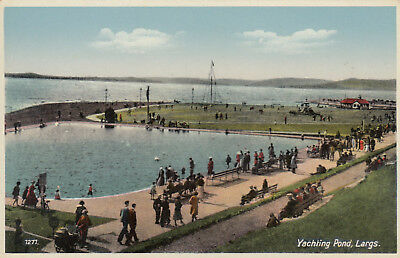 Postcard   Yachting Pond  Largs