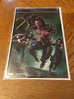 Invaders #1 1 in 25 Mico Suayan Variant
