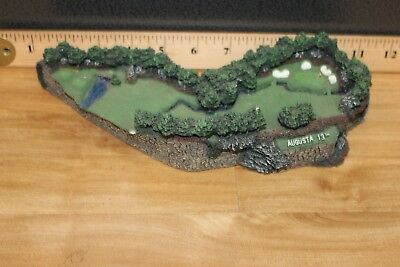 The 13th at Augusta, Golf Hole Miniature Reproduction by The Danbury Mint