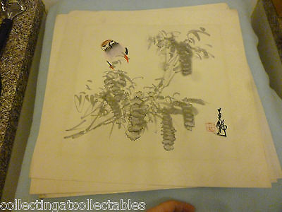 Chinese Ink Wash Painting  (Signed with artist Seal)