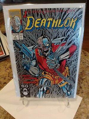 Marvel Comics:     Deathlok   Issue #1  -- 1991