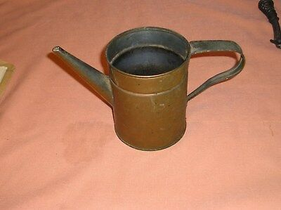Vintage Copper Watering Can  aged patina
