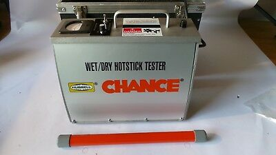 Hubbell Chance Wet/dry Hotstick Tester
