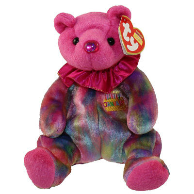 Ty Beanie Baby - January the Garnet bear