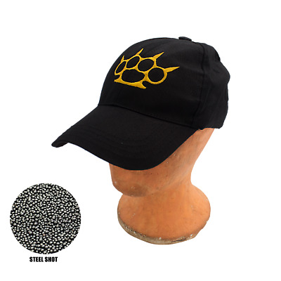 Spiked Knuckles Self Defense Baseball Hat Cap Low Profile Weighted Impact Tool