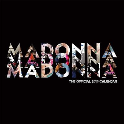 Madonna - 2019 Official Uk Calendar Danilo 16 Month Square Sealed Album Artwork