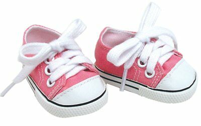 For Bitty Baby Doll Clothes Pink Canvas Sneakers Shoes Accessories