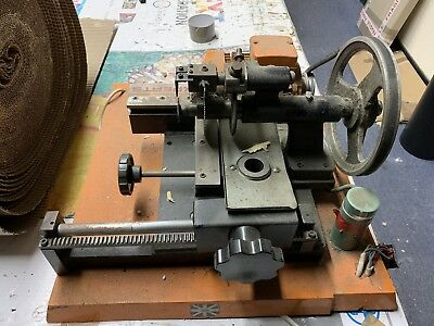 Old  Key Cutting Machine with Motor For Spares Or Repair, Bit Missing
