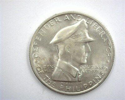 Philippines 1947-S Silver Peso Gem+ Uncirculated