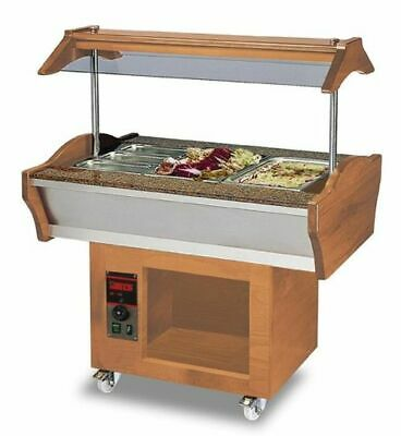 Gastro Buffet Chaud, 1200x900x850 / 1350 mm, 2x 1,2 Kw