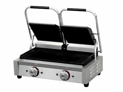 Griddle, 570x310x200 mm, Table Barbecue, Panini Grill