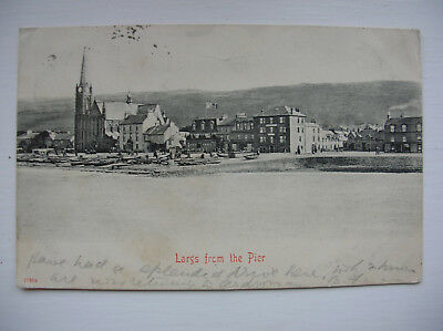 Largs from Pier. (Stengel & Co - 1903)