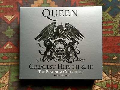 Queen - The Platinum Collection: Greatest Hits Volumes 1, 2 & 3 (3-CD Box Set)
