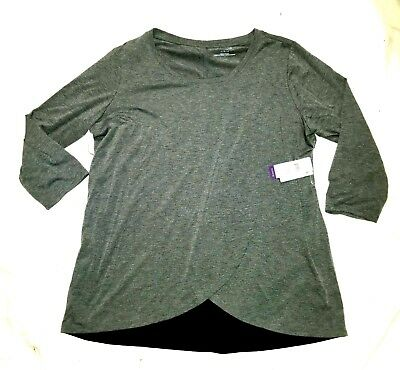 NWT Motherhood Brand Nursing Shirt Long Sleeve Size Large Retail $30