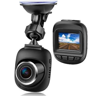 Dash Cam by Fliiners Mini LCD Car Dvr Camera Recorder with FHD 1080P, Night