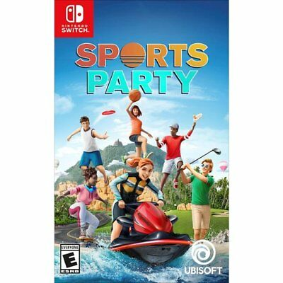 Nintendo Switch Sports Party Edition NEW Sealed REGION FREE USA plays all NS!