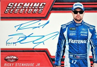 Ricky Stenhouse Jr. 018 Certified Signing Sesson Auto 275