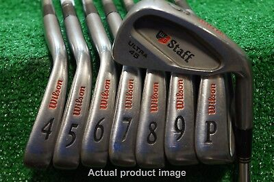 Wilson Staff Ultra 45 Steel Iron Set Regular Flex Firestick 3.5 3-PW 0622072.