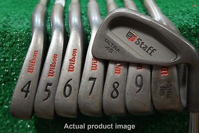 Wilson Staff Ultra 45   Steel Iron Set Stiff Flex Irons 3-PW  0408124*