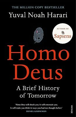 Homo Deus by Yuval Noah Harari📧⚡Email Delivery(10s)⚡📧