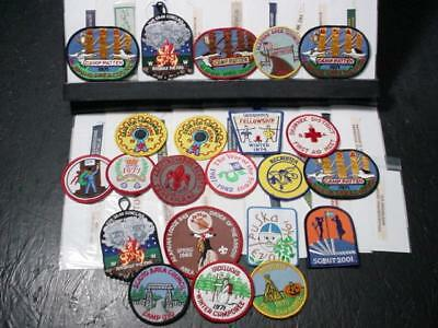 NobleSpirit  NO RESERVE (SM) Boy Scouts Camp and International Patch Collection