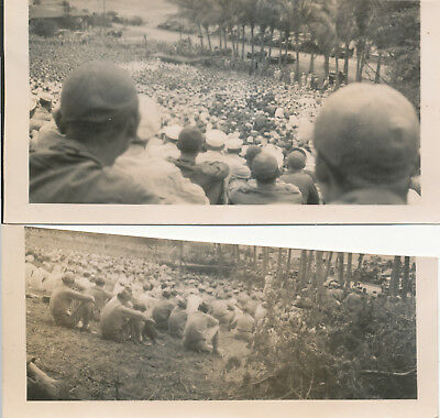 1944 WWII Bob Hope USO Show Maui Hawaii 3 cut down Photos