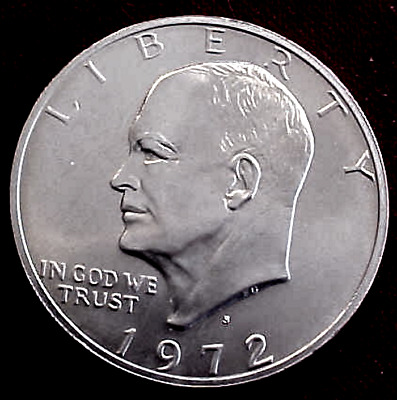 1972-S Eisenhower Silver Clad Proof............min. Bid .01 & No Reserve!