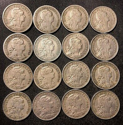 Old Portugal Coin Lot - 50 CENTAVOS - 1929-1968 - Collectible Series - Lot #J16