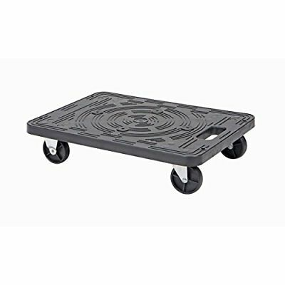 """19.5"""" in x 14.5"""" 200 lb. Capacity Polypropylene Ridged Equipment Mover's Dolly"""