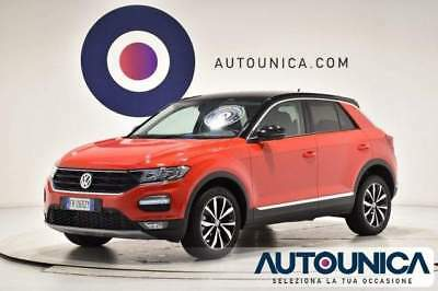 Volkswagen t-roc 1.0 tsi style bluemotion solo 2.723 km uniprop led