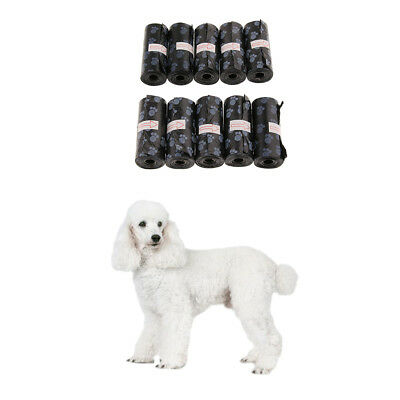 10 Pack Coreless Waste Bags Disposable Poop Bag for Pet Dogs Outdoor Walking