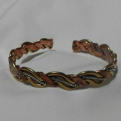 VINTAGE BRACELET BRONZE Antique Viking Decorated artifact VERY Stunning