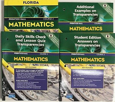 GRADE 7 MATH Curriculum Bundle Homeschool 7th Prentice Hall Mathematics