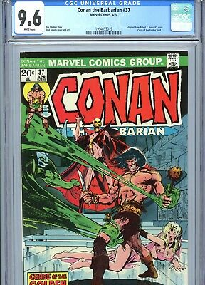 Conan the Barbarian #37 CGC 9.6 White Pages Neal Adams Cover & Art Marvel 1974