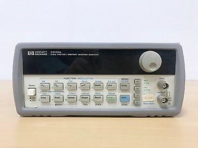 Agilent HP 33120A 15MHz Function / Arbitrary Waveform Generator