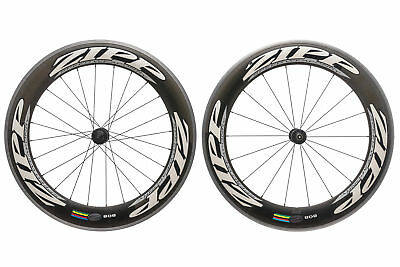 Zipp 808 Road Bike Wheel Set 700c Carbon Clincher Shimano 10s DT Swiss 240