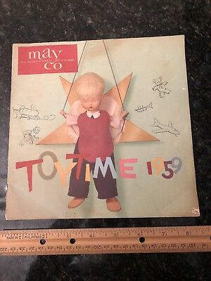 Vintage 1959 Toy Catalog Shirley Temple Madame Alexander Dolls Roy Rogers More!