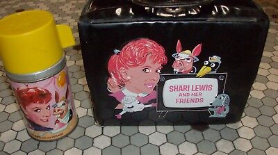 Vintage 1963 Shari Lewis and Her Friends Lunchbox & Thermos - Aladdin