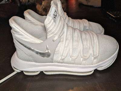 Nike ZOOM KD 10 GS Basketball Shoes Kevin Durant 918365-100 Size 5.5 Youth c17487130