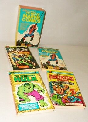 % 1980's Stan Lee Presents The Best Of Marvel Comic Book Collection In Box Set