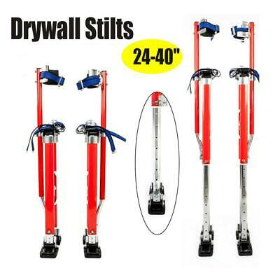 "24-40"" Drywall Stilts Aluminum Tool FOR Painting Painter Taping Strap Finishing"