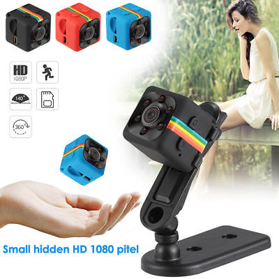 Mini Hidden SQ11 IR Night Vision Camera 1080P HD DVR Sports Car Video Recorder