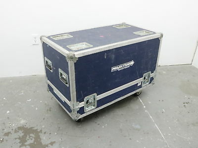 Calzone Road Case with Spool and 250' Canare RGBHV 5 Wire BNC