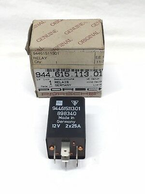 Genuine Porsche Multi Purpose Relay  94461511301
