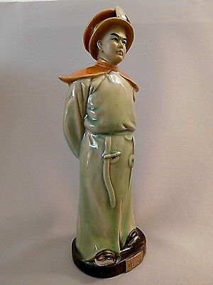 Chinese Mudman King Sung Chi  Pottery Figurine Sculpture