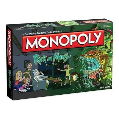 Rick & Morty Monopoly
